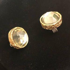 Marc Jacobs Gold Earrings